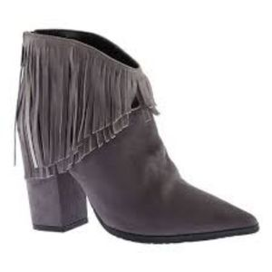 New! Kenneth cole reaction boho heeled booties